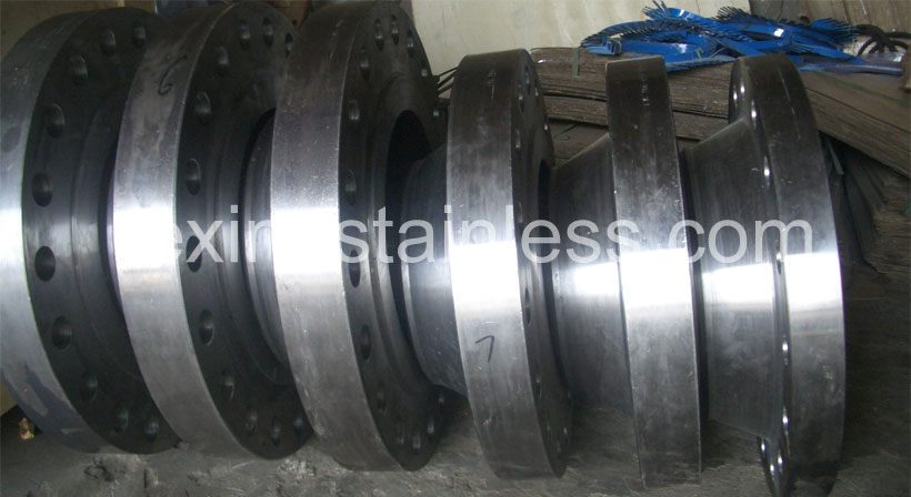 A350 LF3 Carbon Steel Flanges Stock At Our Stockyard